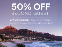 Buy one get one half off - azamara
